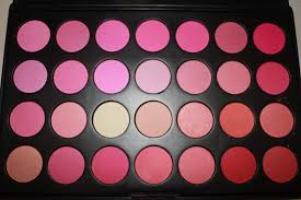 pink shadow pallett