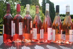 rose wine selection