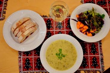 soup salad